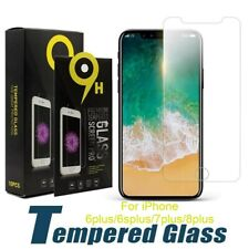 "NEW Tempered Glass Screen Protector iPhone 6plus/6splus/7plus/8plus Sz 5.5"" LOT"