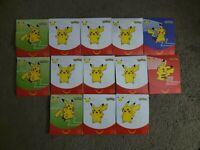 13 McDonalds 2021 Pokemon Sealed Card Packs 25th Anniversary Happy Meal TCG