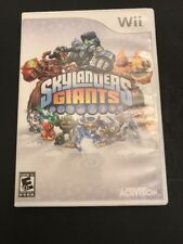 Skylanders Giants for Nintendo Wii Game With Instruction Booklet