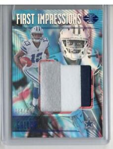 MICHAEL GALLUP 2018 ILLUSIONS 3 COLOR JERSEY RC /100 COWBOYS