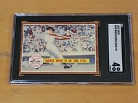 1962 Topps #234 Roger Maris World Series Games #3 SGC 4 Newly Graded PSA ?