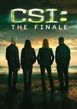 CSI CRIME SCENE INVESTIGATION THE FINALE DVD Set Final 2-Part Episode TV Season