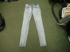 "Mademoiselle r & j skinny jeans taille 28"" jambe 32"" délavé bleu moyen femme jeans"