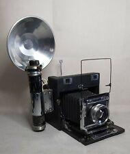 De Colección cámara de prensa 4x5 c1940 Con Lente Schneider