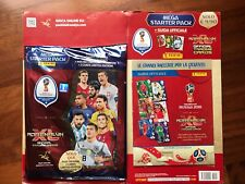 PANINI ADRENALYN XL WORLD CUP 2018 RUSSIA MEGA STARTER PACK BINDER ORIGINALE