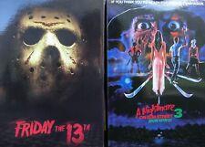 A Nightmare on Elm Street 3 (Freddy Krueger) & Freitag der 13. (Jason) Neca