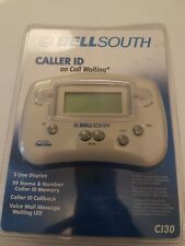 Bell South Telephone Caller Id on Call Waiting Ci30 White New!