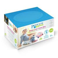 Potette Disposable Travel Potty Liners Eco Friendly Biodegradable Value 60 Pack