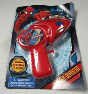 Marvel Ultimate Spider-Man Water Blaster Pistol Squirt Gun NOS New On Card