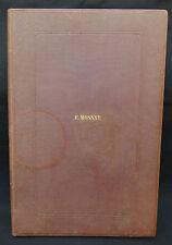 MOSNAY livre manuscrit écrit à la main sur l'histoire de France daté 1867 19ème