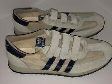 Very Rare Vintage Velcro NEW 1980's Adidas Voyager Comfort Size 10 Men Eur 43