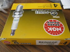 4 NEW NGK GP PLATINUM SPARK PLUGS # BKR6EGP