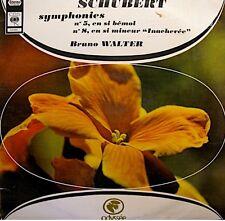 ++BRUNO WALTER/COLUMBIA/NEW YORK symphonies 5/8 SCHUBERT LP ODYSSÉE VG++