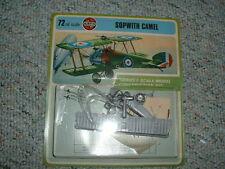 Airfix 1/72 HO Sopwith Camel- 1973 carded