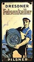 Brauerei zum Felsenkeller b Dresden historische Bier Aktie 1943 Sachsen Eis Malz