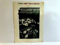 Xevious Atari 2600 MANUAL ONLY Authentic