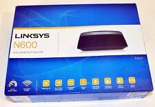Linksys - N600 (E2500-NP) Dual Band Wi-Fi Router - Black