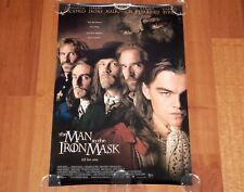 ORIGINAL MOVIE POSTER THE MAN IN THE IRON MASK 1998 UNFOLDED INTL SS ONE SHEET