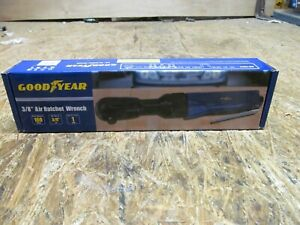 """NEW --- GOODYEAR 3/8"""" AIR RATCHET WRENCH - RP7438       (Lot B124)"""