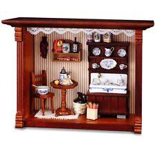 Reutter Porzellan Miniaturen - Wandbild Abwaschtisch Küche 20x15cm (1.700/2)