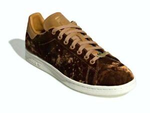 New Adidas Originals Stan Smith Shoes EH0175 Velvet Mesa Brown 8.5   $100