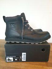 Mens Sorel Madson Chukka Waterproof Boots  Black Size UK 15/ EU 48