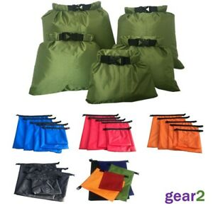 5 x Waterproof Dry Bags Sack Canoe Kayak Camping Hiking Cycling Fishing Sailing