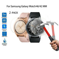 For Samsung Galaxy Smart Watch Tempered Glass Films Screen Protector Accessories