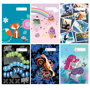 Reusable School SCRAPBOOK Cover size 34.2 * 49.3 cm Spencil 64 options