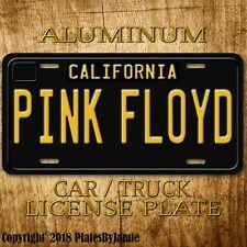 PINK FLOYD  Metal Aluminum Vanity Car Truck Vintage License Plate Tag New