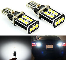 JDM ASTAR 800 lumens Extremely Bright Error Free 921 912 PX Reverse LED Bulbs 2x