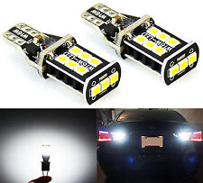 JDM ASTAR 800LM Extremely Bright Error Free 921 912 Reverse LED Bulbs Pair of 2