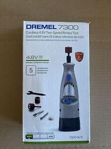 Dremel7300-N/5 4.8V Cordless Two-Speed Rotary Tool Kit