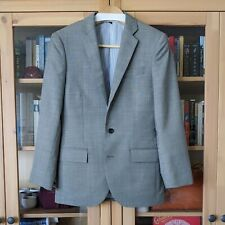 J Crew Ludlow mineral grey worsted wool jacket 36S