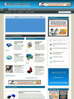 BLOGGING TIPS WEBSITE FOR SALE WITH AFFILIATE STORE & BANNERS + FREE HOSTING