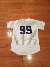 New York Yankees sensation Aaron judge  white large pinstripes Jersey gorgeous