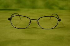 St. John Eyeglass Frames S - 016 Black Vintage Made in Italy