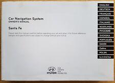 GENUINE HYUNDAI SANTA FE NAVIGATION OWNERS MANUAL HANDBOOK 2012-2015 REF C-176 !