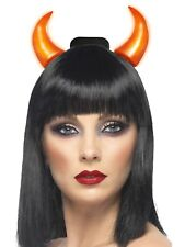 Light Up Devil Horns Ladies Devils Halloween Fancy Dress Accessory