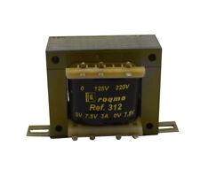 Transformador alimentacion 7.5 V + 7.5 V 3 A Transformadores Alimentación