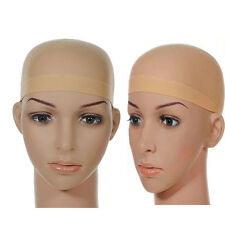 HOT Sale 2PCS Unisex Stocking Wig Liner Cap Snood Nylon Stretch Mesh
