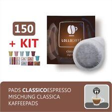 150 CIALDE CAFFE CARTA ESE44 CAFFE' LOLLO CLASSICO + KIT ACCESSORI