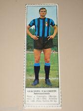 *+ GIACINTO FACCHETTI INTER=FIGURINA=1966/67=ALBUM FIGURINE CALCIATORI TEMPO