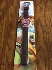 New Ice Age Dawn of the Dinosaurs Digital Watch - Rare - NIP Purple
