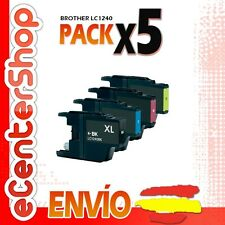 5 Cartuchos LC1240 NON-OEM Brother MFC-J6510DW / MFCJ6510DW 24H