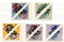 Russia 3848-3852,MNH Michel 3878-3882. Soviet Cars,1971.