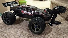 Traxxas Brushless E-REVO 4x4 1/10 RTR LIGHTLY USED MXL-6s Castle TSM