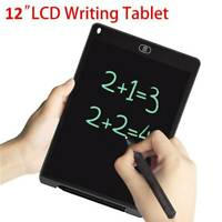 "12"" LCD Tablet Drawing Writing Board Kid Notepad eWriter Digital Graphic Gifts"