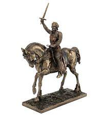 "13.75"" Richard The Lionheart Knight King Statue Sculpture Medieval Home Decor"
