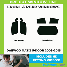 Pre Cut Window Tint - Daewoo Matiz 5-door 2009-2016 - Full (Front & Rear)